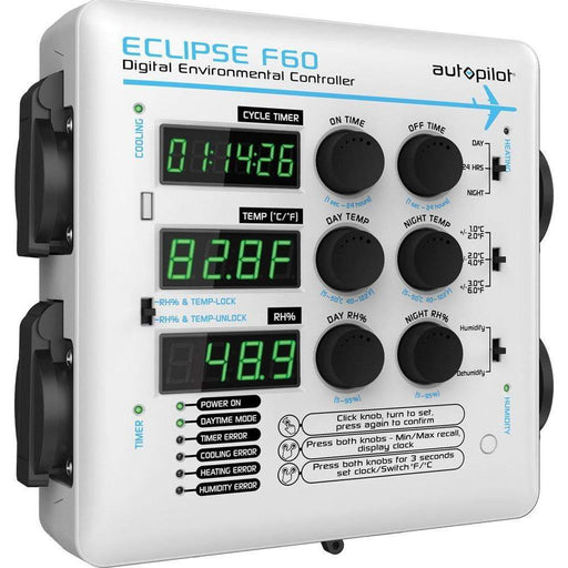 Autopilot ECLIPSE F60 Digital Environmental Controller - HydroPros.com