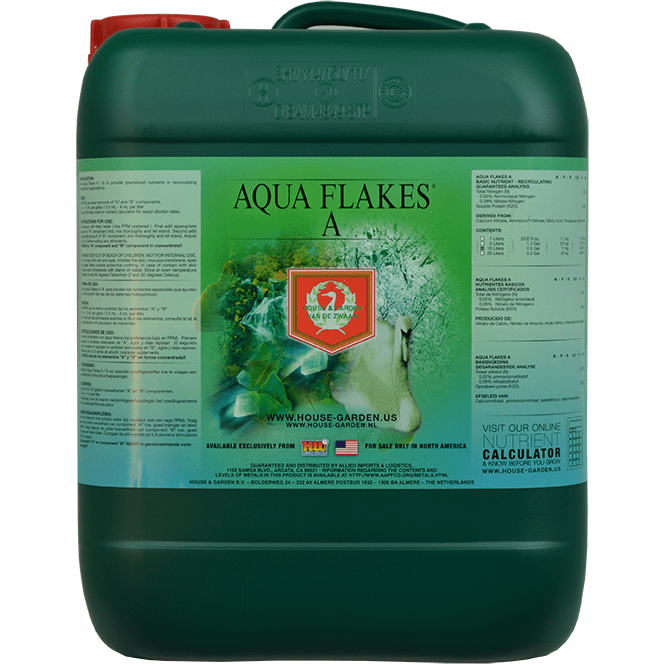 House and Garden Aqua Flakes A - HydroPros.com
