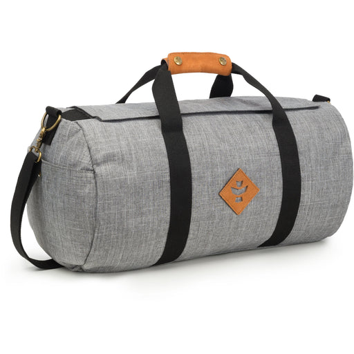 Revelry Supply The Overnighter Small Duffle, Crosshatch Grey - HydroPros.com