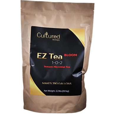 Cultured Biologix EZ Tea Bloom 1-0-2 Instant Microbial Tea