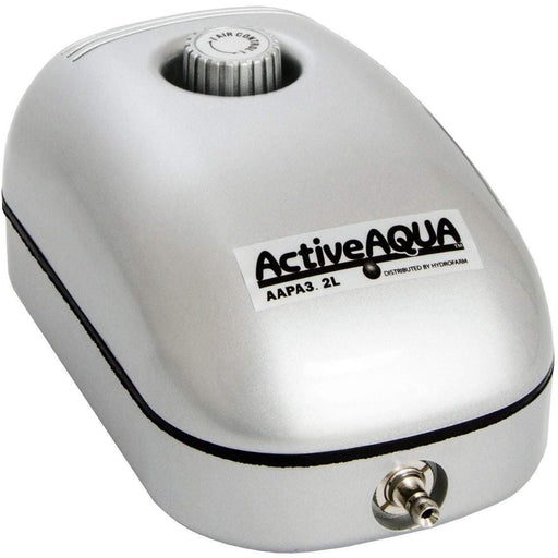 Active Aqua Air Pump, 1 Outlet, 2W, 3.2 L/min - HydroPros.com