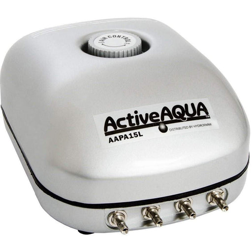 Active Aqua Air Pump, 4 Outlets, 6W, 15 L/min - HydroPros.com
