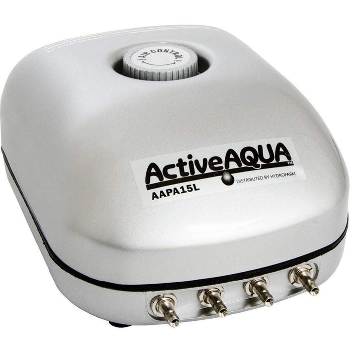 Active Aqua Air Pump, 4 Outlets, 6W, 15 L/min -  GotHydro.com