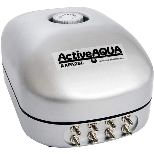 Active Aqua Air Pump, 8 Outlets, 12W, 25 L/min -  GotHydro.com