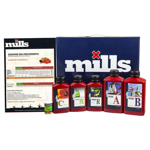 Mills Nutrients Complete Starter Kit - HydroPros.com