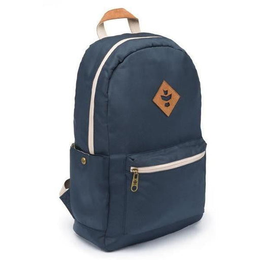 Revelry Supply The Escort Backpack, Crosshatch Navy Blue