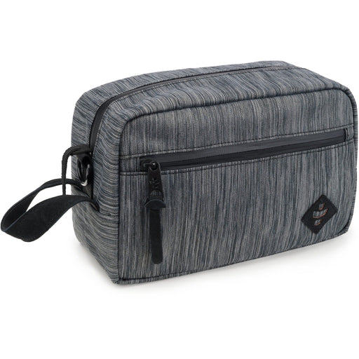 Revelry Supply The Stowaway Toiletry Kit, Striped Black