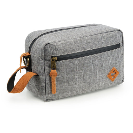 Revelry Supply The Stowaway Toiletry Kit, Grey