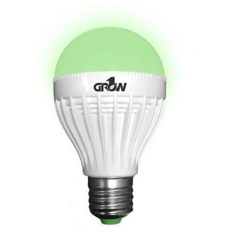 Grow 1 Green LED Light Bulb - 9 watt - HydroPros.com