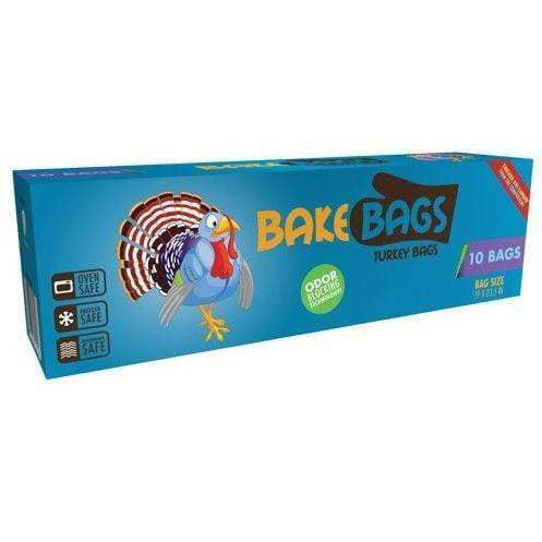 Bake Bags Turkey Bags 10 Bags 19x23.5 in