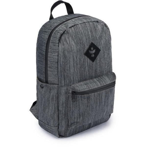 Revelry Supply The Escort Backpack, Crosshatch Striped Black