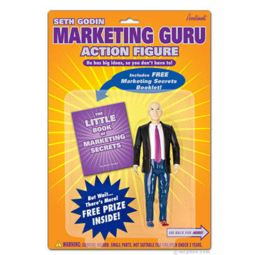 Seth Godin Marketing Guru Action Figure