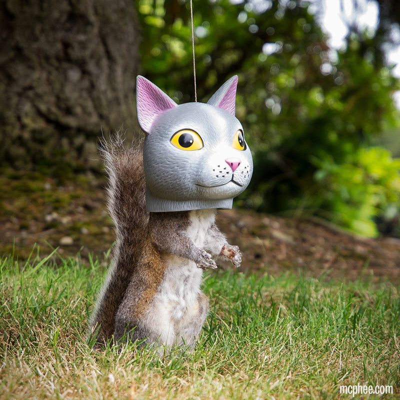Cat Head Squirrel Feeder Behind the Scenes