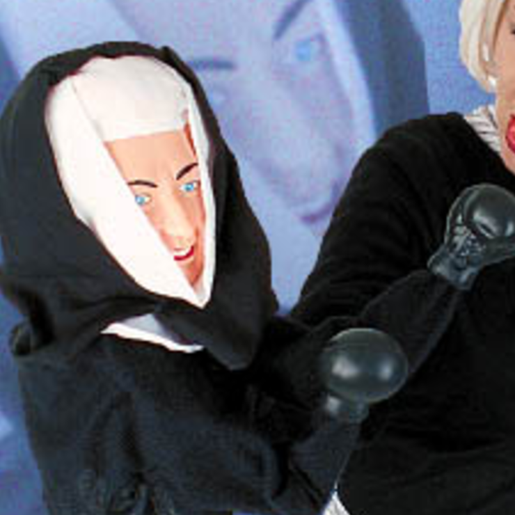 Nun Punching Puppet
