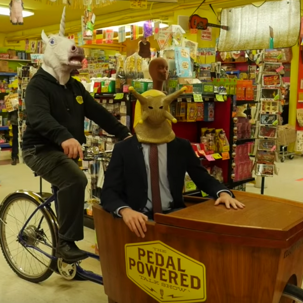 Archie McPhee's Seattle Store on Pedal Powered Talk Show