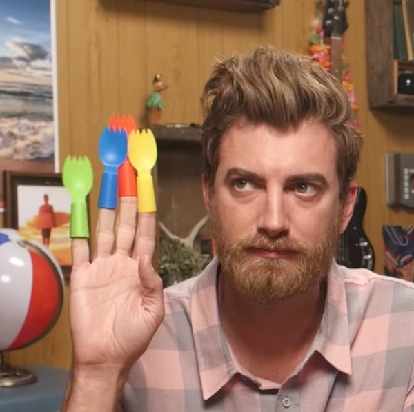 Finger Sporks on Good Mythical Morning