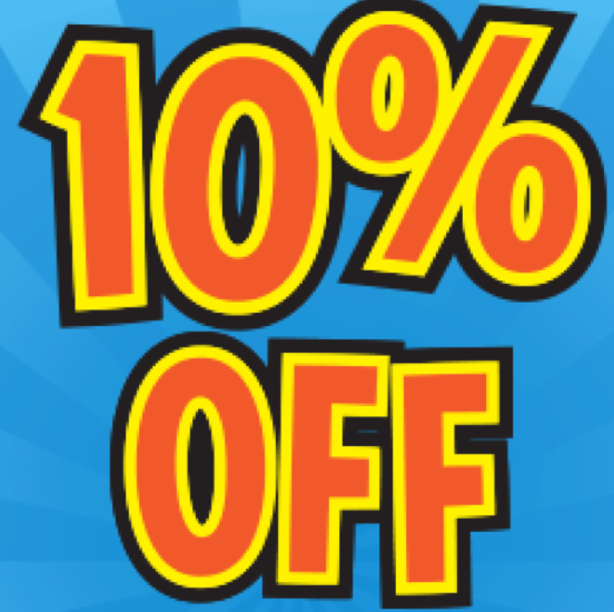Text us and get 10% off your next order!
