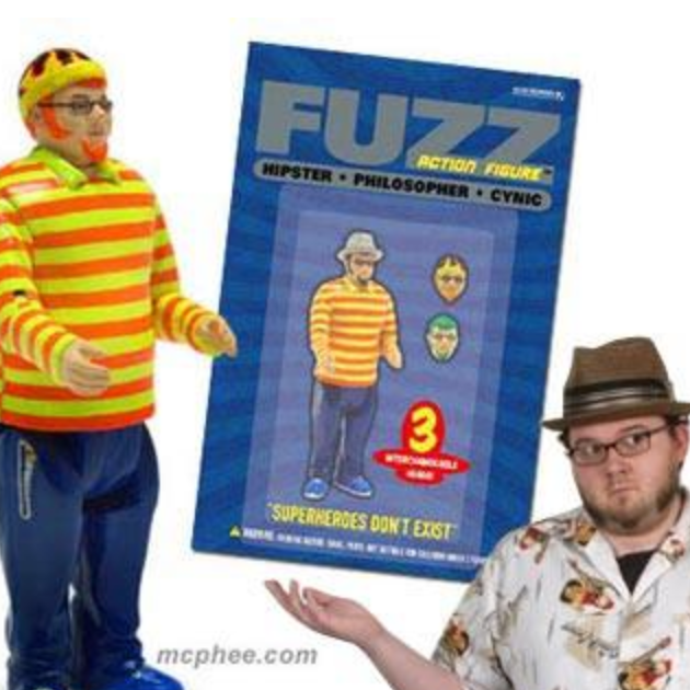 Podcast ep 10: The Fuzz Action Figure and a Radioactive Secret Santa