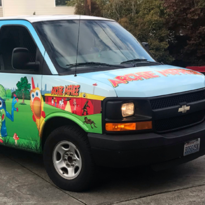 Archie McPhee delivery in Seattle!