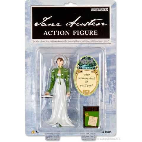 JANE AUSTEN ACTION FIGURE CARDED