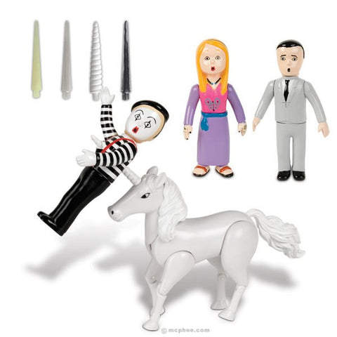 The Avenging Unicorn And Avenging Narwhal Play Sets Archie Mcphee