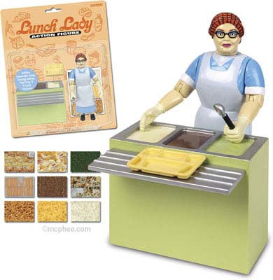 Lunch Lady Action Figure