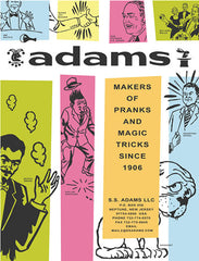 Adams Catalog cover by Kirk Demarais