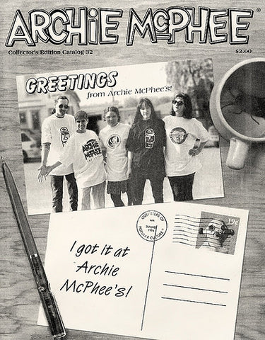 Archie McPhee Catalog 32 cover, 1994