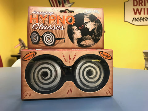 Amazing Hypno Glasses front of package