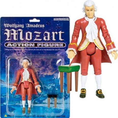 Mozart Action Figure from Archie McPhee