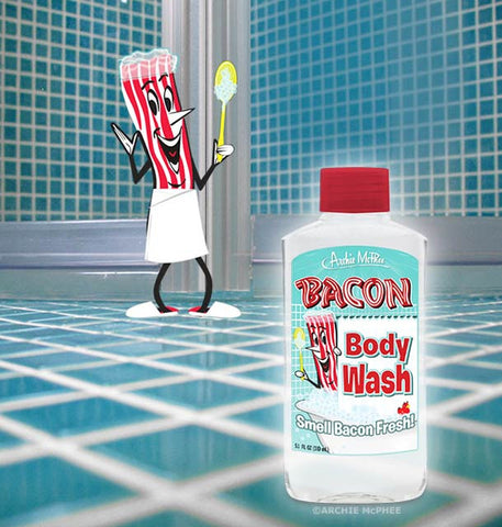 Bacon Body Wash Advertisement