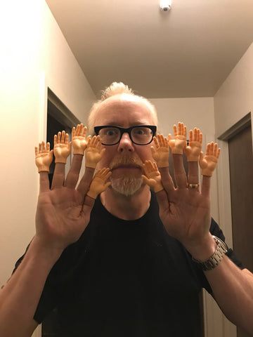 Adam Savage in Finger Hands