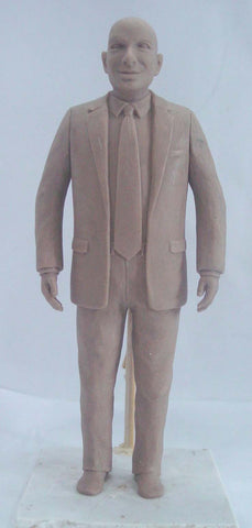 Seth Godin Action Figure Prototype Front View