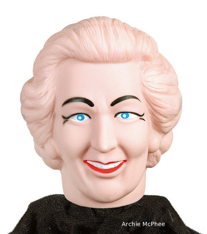 Margaret Thatcher Head from Nun Punching Puppet