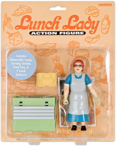 Lunch Lady Action Figure in Package