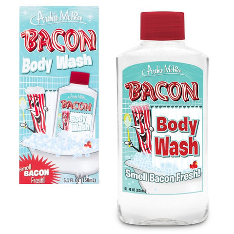 Bacon Body Wash and Package