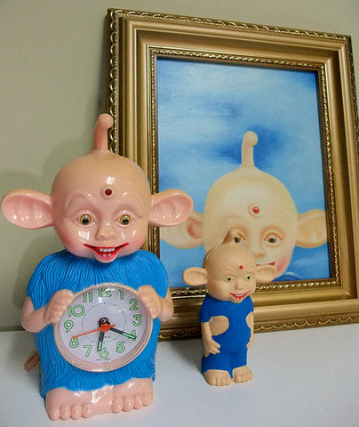 Bibo Clock Squeeze Bibo and Bibo Painting Art