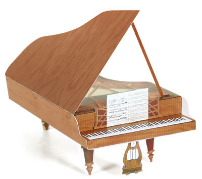 Beethoven's Fold-Up Piano