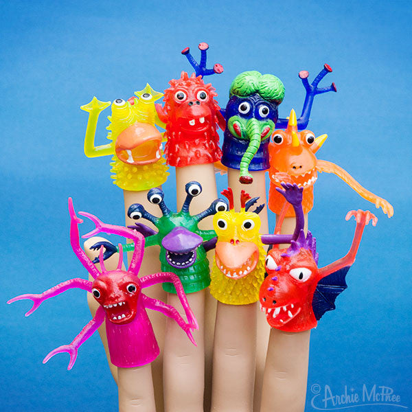 Deluxe Finger Monsters-Archie McPhee