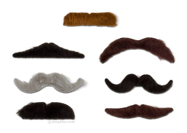Stylish Mustaches-Archie McPhee