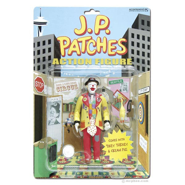 J.P. Patches Action Figure - Archie McPhee - 2