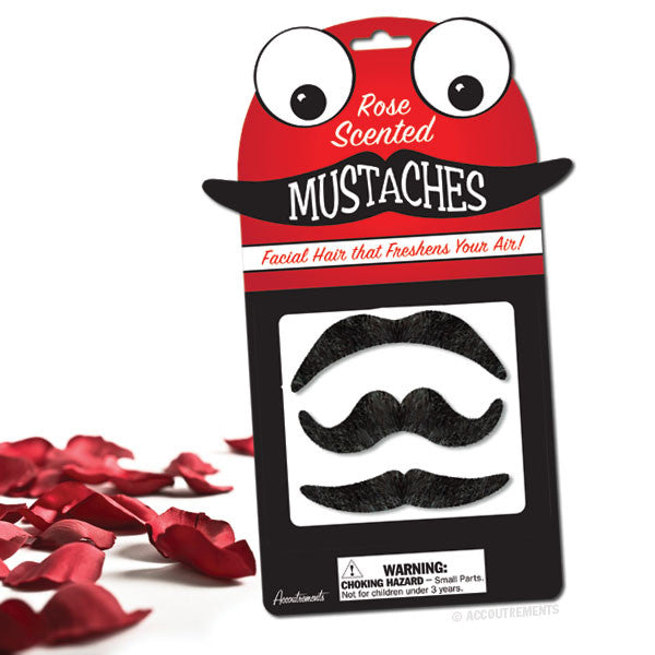 Rose Scented Mustaches-Archie McPhee