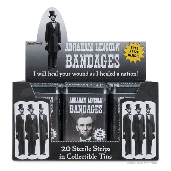 Abraham Lincoln Bandages - Bulk Box