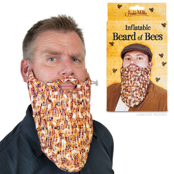 Inflatable Beard of Bees-Archie McPhee