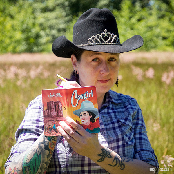 Cowgirl Notebooks-Archie McPhee