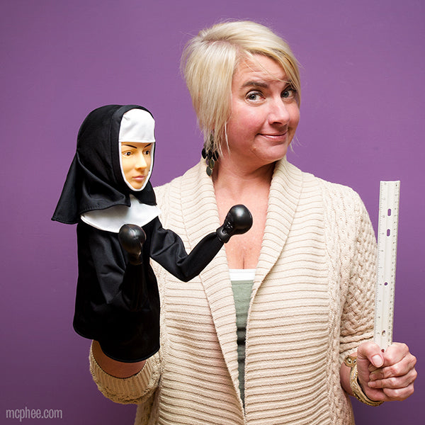 The Punching Nun Puppet-Archie McPhee