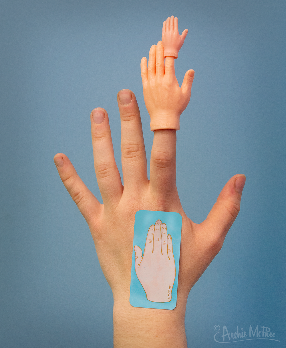 Hands - Finger Hands and Tiny Hands – Archie McPhee