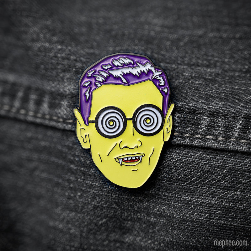 Monster Guy Enamel Pin