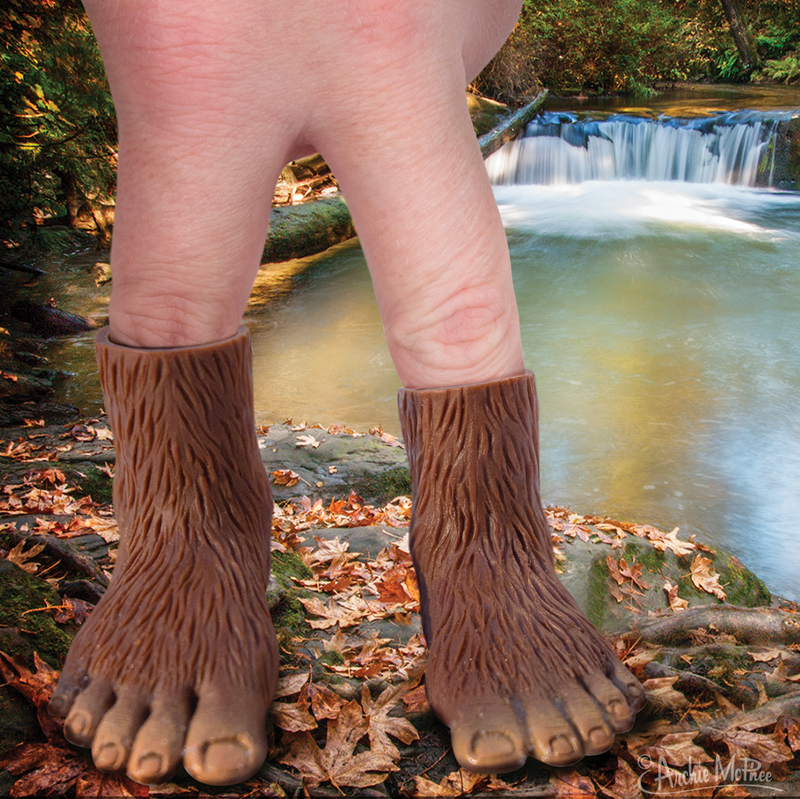 Bigfoot Finger Feet