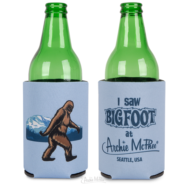 Bigfoot Can Cooler